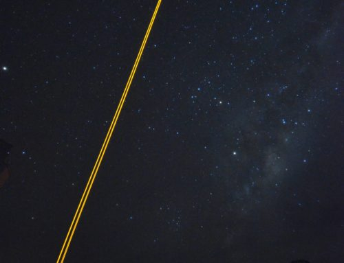 Laser in the sky